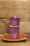 shui för stearinljusfengpurple Arkivbild