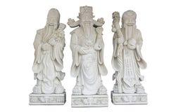 Shui Feng τρεις Θεοί του πλούτου στοκ φωτογραφία