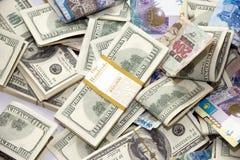 Shui van dollars en tenge feng Stock Fotografie