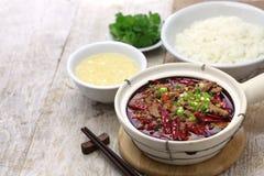 Shui zhu, chinese sichuan cuisine Royalty Free Stock Image