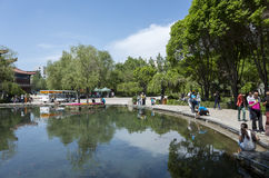 Shuimogou-Park Lizenzfreies Stockbild