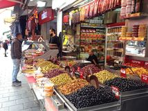 Shuk Mahaneh Yehuda Jerusalem Market Royalty Free Stock Images