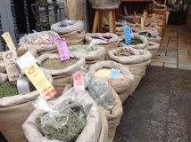 Shuk Mahaneh Yehuda Jerusalem Market Stock Image