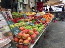 Shuk Mahaneh Yehuda Jerusalem Market Stock Photo