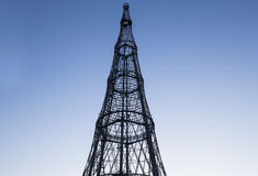 Free Shukhov Radio Tower Shabolovka Tower - Is A Broadcasting Tower In Moscow Designed By Vladimir Shukhov. Russia Royalty Free Stock Photos - 77750298