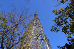 Shukhov radio tower or Shabolovka tower in Moscow, Russia Stock Photography