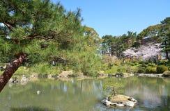 Shukkeien Garden in Central Hiroshima Stock Images