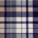 Shull Shawl. Close up view of an antique wool plaid, repeatable and seamless Stock Images