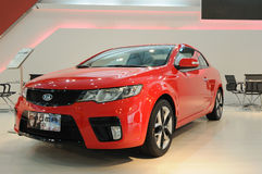 Shuma rouge de Kia Photo stock