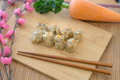 Shumai, dim sum Royalty Free Stock Images