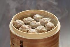 Shumai, shaomai, alimento chinês imagem de stock