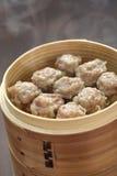 Shumai, shaomai, alimento cinese fotografie stock
