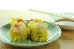 Shumai , siu mai - chinese steamed pork dumplings Stock Photo