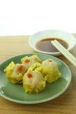 Shumai , siu mai - chinese steamed pork dumplings Royalty Free Stock Photos