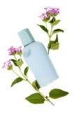 Shumpoo azul, fresco de la naturaleza Foto de archivo libre de regalías