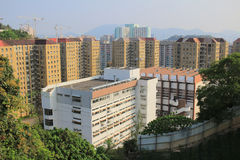 Shun Lee district, kwun tong Royalty Free Stock Images