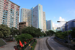 Shun Lee Estate hk Stock Photo