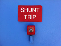 A Shunt Trip Breaker Royalty Free Stock Images