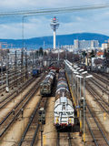 Shunting in vienna Stock Images