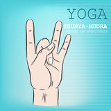 Shunya-Mudra Stock Photo