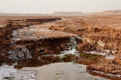 Free Shur River In Lut Desert Of Iran Royalty Free Stock Images - 159754759