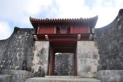 Shuri Castle Gate Royalty Free Stock Image