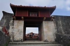 Shuri Castle Gate Stock Photo