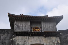 Shuri Castle Gate Royalty Free Stock Photo