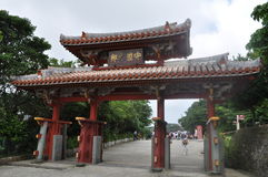 Shuri Castle Main Gate Stock Image