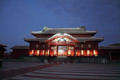 Shuri castle (main hall) royalty free stock photography