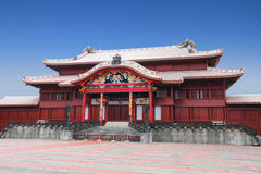 Shuri Castle in Okinawa, Japan Royalty Free Stock Photography