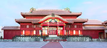 Shuri Castle. Okinawa, Japan. Stock Photos