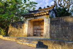 Shuri Castle Ruins Royalty Free Stock Images