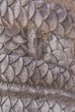 Shuri Castle`s dragons stone sculpture in the Shuri neighborhood of Naha, the capital of Okinawa Prefecture, Japan.  royalty free stock photos