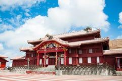 Shuri slott, Okinawa, Japan arkivbild
