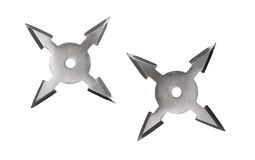 Shuriken isolated Stock Images
