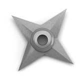 Shuriken isolated on white background Royalty Free Stock Photo