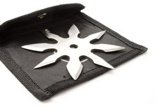 Shuriken of nindzya Stock Photo
