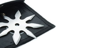 Shuriken of nindzya Royalty Free Stock Photos
