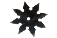 Shuriken. The shuriken is a weapon, used by japanese fighter (ninja Royalty Free Stock Images