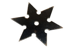 Shuriken. The shuriken is a weapon, used by japanese fighter (ninja Stock Photo