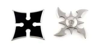 Shurikens Immagine Stock