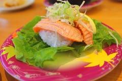 Shushi japan food. Japan food in the restaurant in japan royalty free stock photos