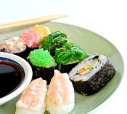 Shushi Japanese Food Royalty Free Stock Images