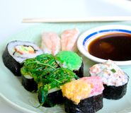 Shushi Japanese Food Stock Image