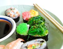 Shushi Japanese Food Royalty Free Stock Photography