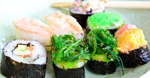 Shushi Japanese Food Royalty Free Stock Photos