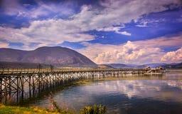 Shuswap jezioro Obraz Royalty Free