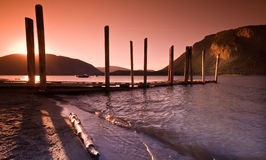 Shuswap Lake, Salmon Arm Stock Images