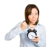 Shut that clock up Royalty Free Stock Photo